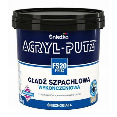 Gładź szpachlowa ACRYL-PUTZ FS20 FINISZ 1.5 kg ŚNIEŻKA