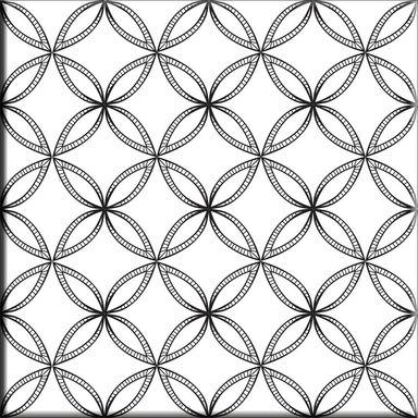 Dekor LUCIDO PATCHWORK5 15X15 ALFA-CER