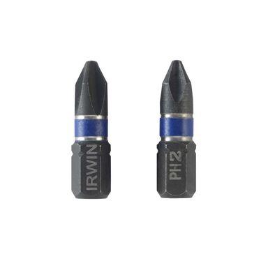 Bit udarowy do wkrętarki IMPACT PH2 25 mm 2 szt. IRWIN