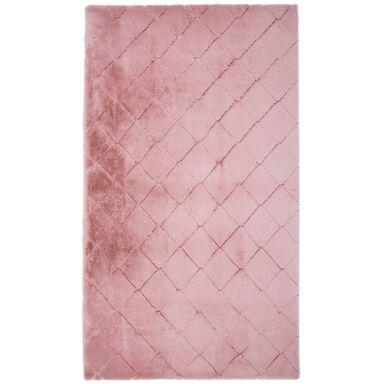 Dywan shaggy Modena różowy 160 x 220 cm