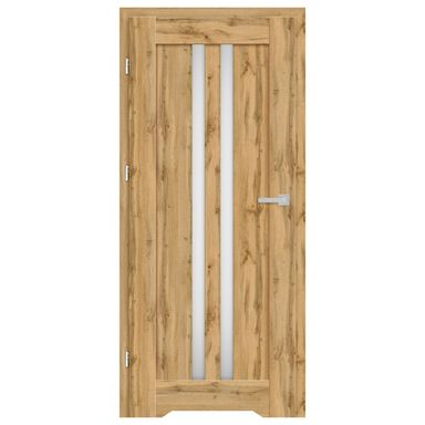 Skrzydło drzwiowe z podcięciem wentylacyjnym Cordoba Dąb Wotan 70 Lewe Nawadoor