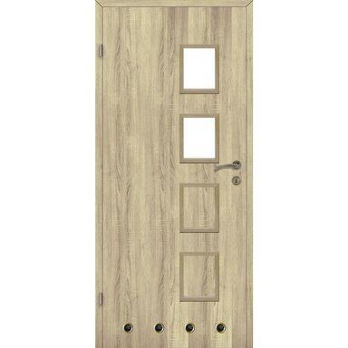 Skrzydło drzwiowe z tulejami wentylacyjnymi SIMON Dąb sonoma 90 Lewe CLASSEN