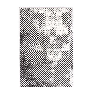 Dywan PASTEL 3D szary 160 x 230 cm