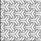 Dekor LUCIDO PATCHWORK1 15X15 ALFA-CER
