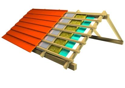 Ocieplenie dachu z blachy trapezowej