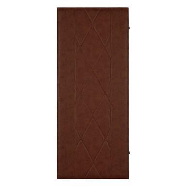 Tapicerka drzwiowa 100 X 200 CM CIEMNY BRĄZ szer. 100  wys. 200 cm