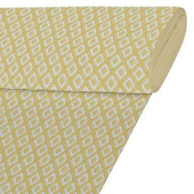 Tkanina na mb PHLOX żółta szer. 280 cm