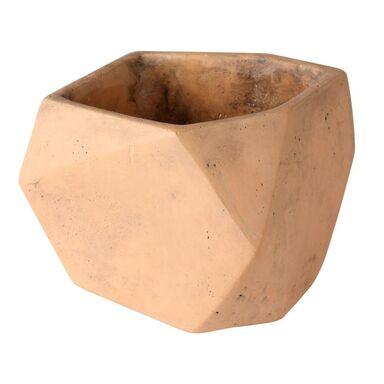 Osłonka doniczki betonowa 15 cm ceglasta ELOF