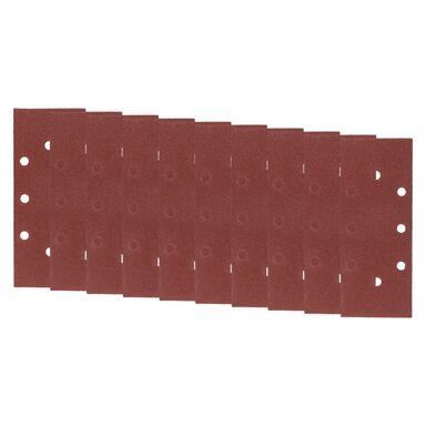 Papier ścierny z otworami 2+6 2+6 gr: 80dł. 230  szer. 93  DEXTER