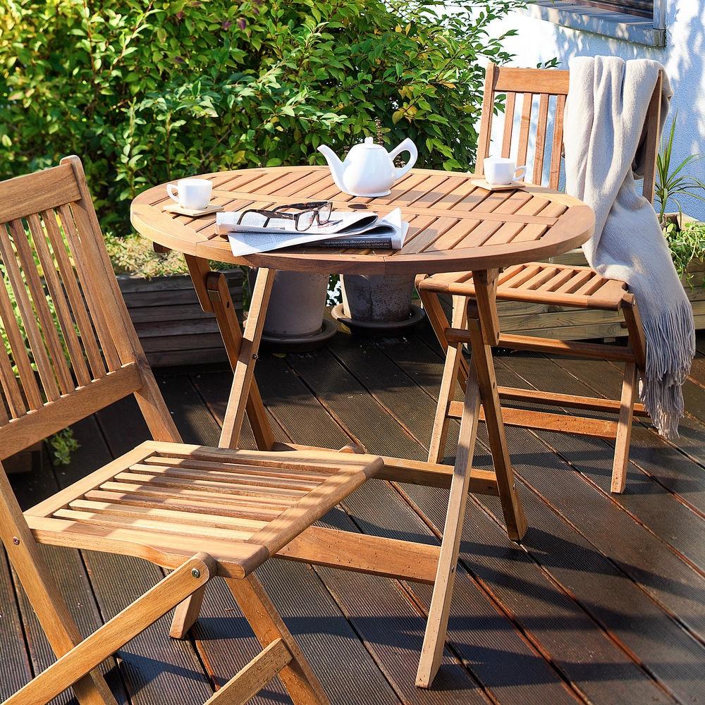 Serie mebli ogrodowych drewniane meble ogrodowe dost pne w leroy merlin - Balkon bescherming leroy merlin ...