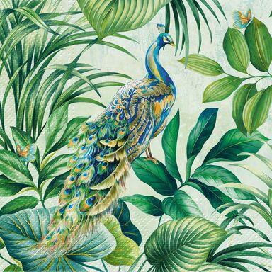 Serwetki Peacock 33 x 33 cm 20 szt.