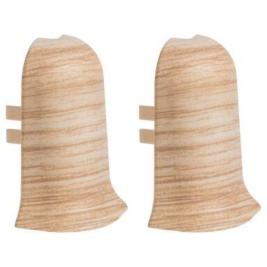 Narożnik zewnętrzny do listwy przypodłogowej ERGO 56 Dąb miodowy 2 szt.