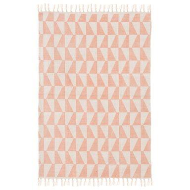 Dywan bawełniany Gia różowy 60 x 90 cm Inspire