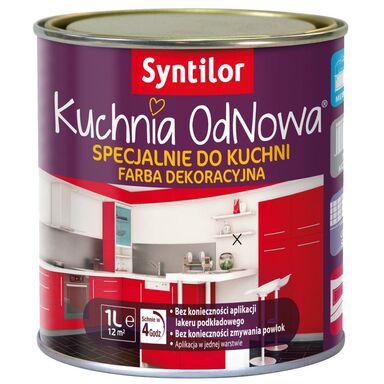 Farba renowacyjna KUCHNIA ODNOWA 1 l Biały SYNTILOR