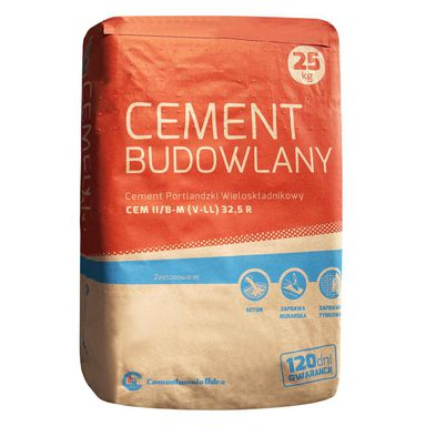 Cement II 32,5 R 25 kg ODRA OPOLE