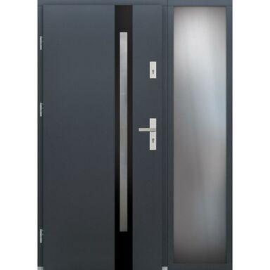 Drzwi wejściowe TULUZA Z DOSTAWKA PRZESZKLONA  92 ELPREMA