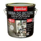 Farba do betonu ULTRA OCHRONA 2.5 l Szary SYNTILOR