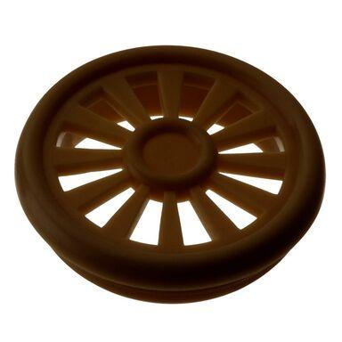 Wywietrznik do szaf 4 szt. MEBLOWY / OKRĄGŁY 4,5 x 0,85 cm HETTICH
