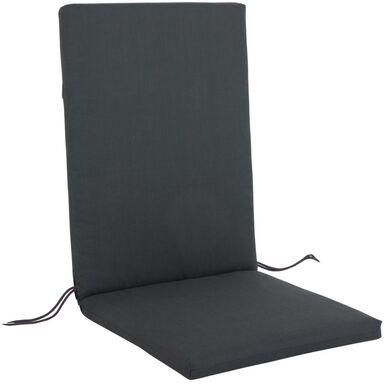 Poduszka na krzesło 44 x 107 x 4 cm CINO antracytowa PATIO