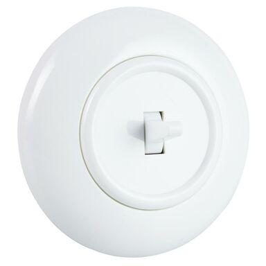 Włącznik krzyżowy LF0023W LOFT biały DPM