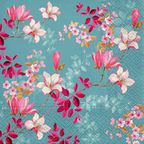 Serwetka MAGNOLIA 33 x 33 cm 20 szt.  PAW DECOR COLLECTION