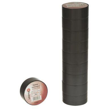 Taśma izolacyjna 25 mm X 10 m czarna F625122 LEXMAN