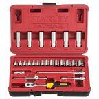 Zestaw kluczy nasadowych 1/4'' Fatmax FMHT0-73024 25 szt. Stanley