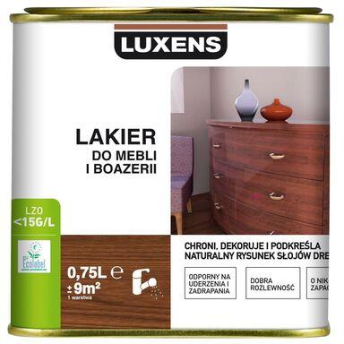 Lakier DO MEBLI I BOAZERII 0.75 l Bezbarwny Mat LUXENS