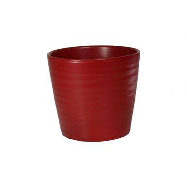 Osłonka ceramiczna 28 cm czerwona CERMAX