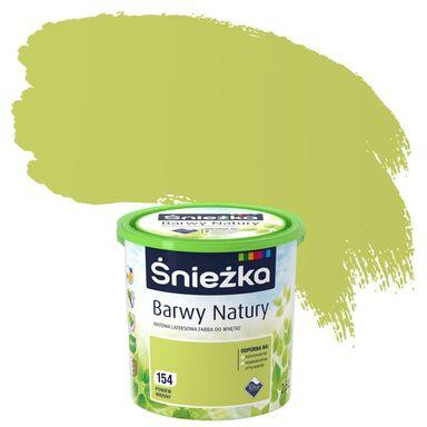 Farba wewnętrzna BARWY NATURY 2,5 l Powiew wiosny ŚNIEŻKA