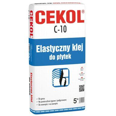 Klej elastyczny do płytek C-10 5 kg CEKOL