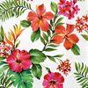 Serwetki Hawaiian flowers 33 x 33 cm 20 szt.
