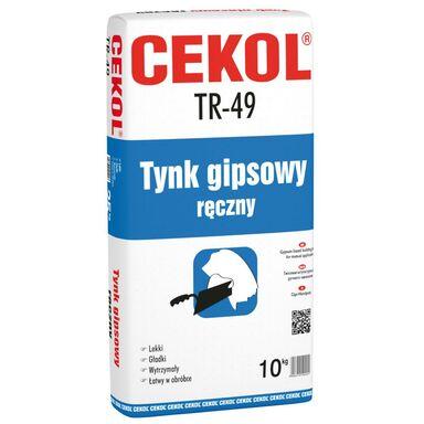 Tynk GIPSOWY RĘCZNY TR - 49 ecru CEKOL