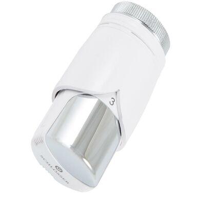 Głowica termostatyczna M30 x 1.5 mm DIAMANT BIAŁY-CHROM SCHLOSSER
