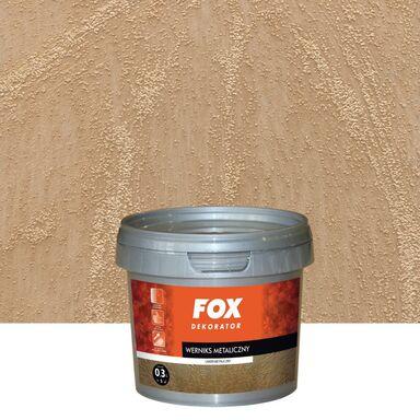WERNIKS METALOWY Złoty FOX