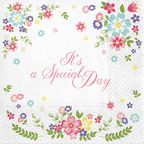 Serwetka SPECIAL DAY 33 x 33 cm 20 szt.  PAW DECOR COLLECTION