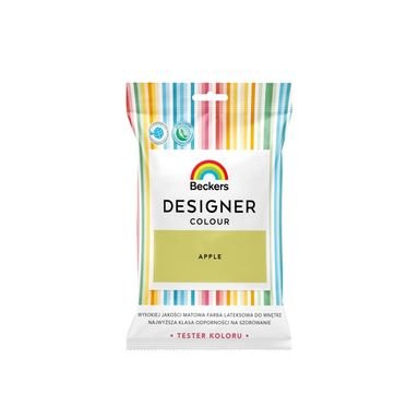 Tester farby DESIGNER COLOUR 50 ml Apple BECKERS