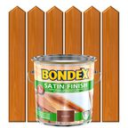 Lakierobejca do drewna SATIN FINISH 2,5 l BONDEX