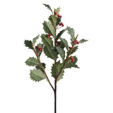 Sztuczna gałązka ostrokrzewu 74 cm  SPLENDID