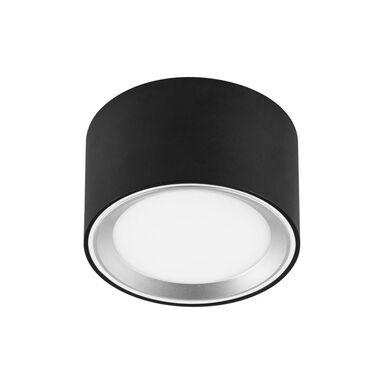 Oprawa natynkowa OBERON IP20 śr. 10 cm czarna LED INSPIRE