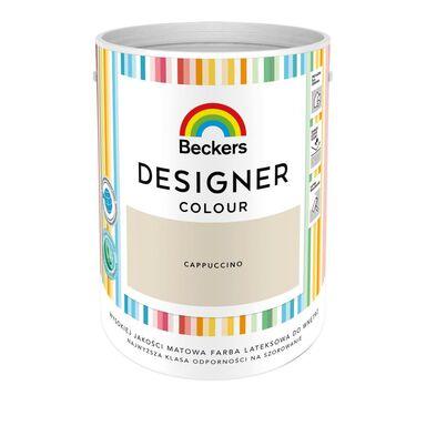 Farba wewnętrzna DESIGNER COLOUR 5 l Cappucino BECKERS
