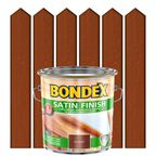 Lakierobejca do drewna SATIN FINISH 2.5 l  Teak BONDEX