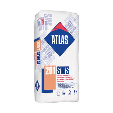 Podkład podłogowy samopoziomujący SWS 201 25 kg ATLAS