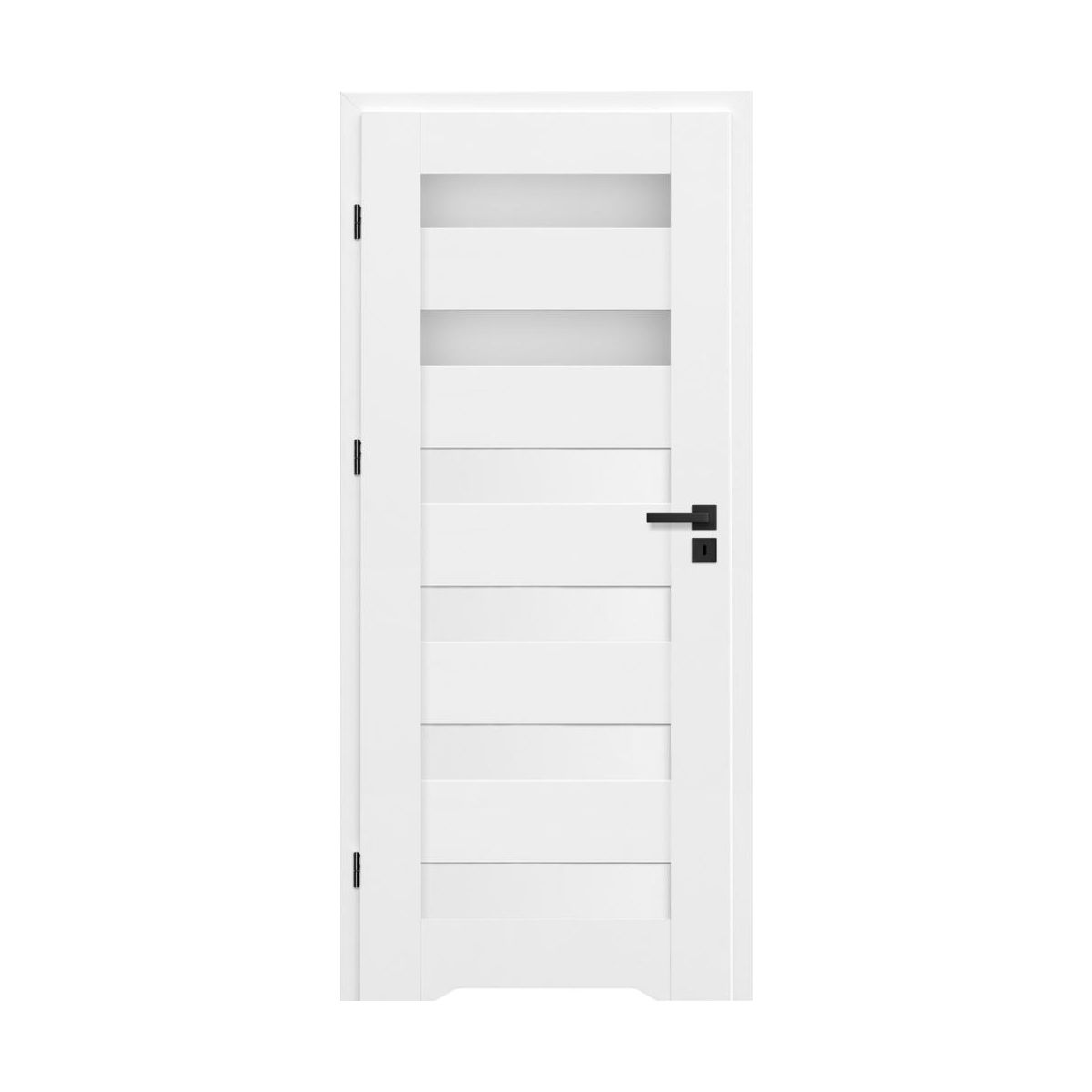 Skrzydło drzwiowe TALANA Białe 60 Lewe NAWADOOR