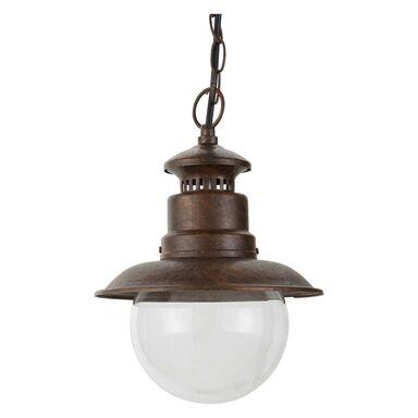 Lampa ogrodowa wisząca RUST MARINA IP44 patyna E27 INSPIRE