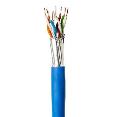 Przewód U/FTP CAT6A 10 m Niebieski LEXMAN