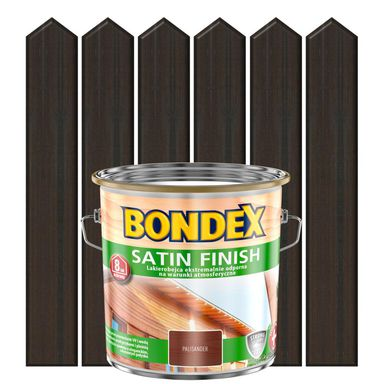 Lakierobejca do drewna SATIN FINISH 2.5 l  Palisander BONDEX