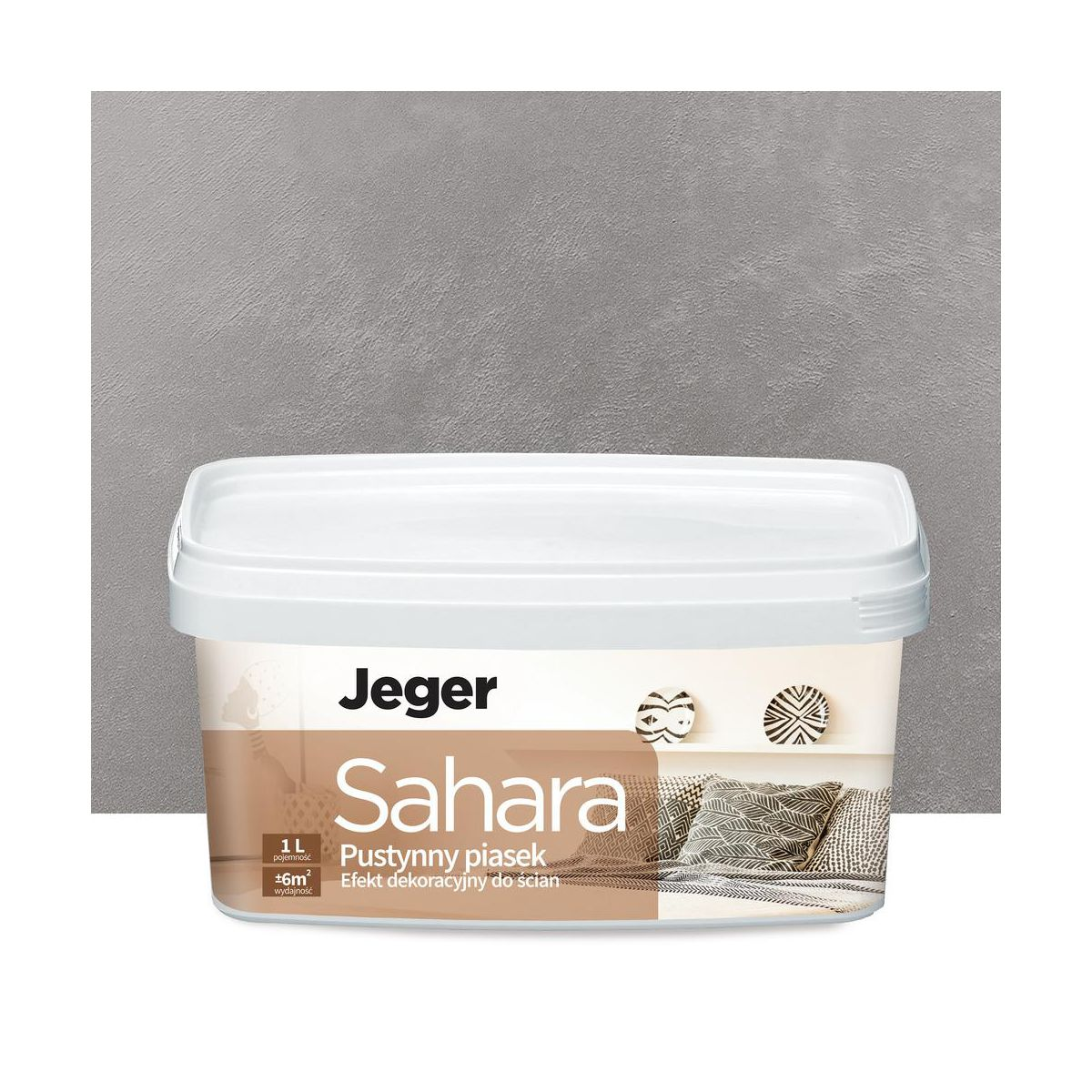 Farba Dekoracyjna Sahara Pietro Piaskowany Jeger