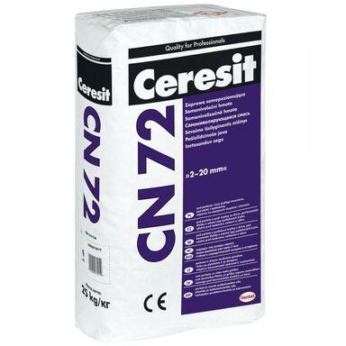 Zaprawa cementowa SAMOPOZIOMUJĄCA CN 72 25kg 2 - 20 mm CERESIT