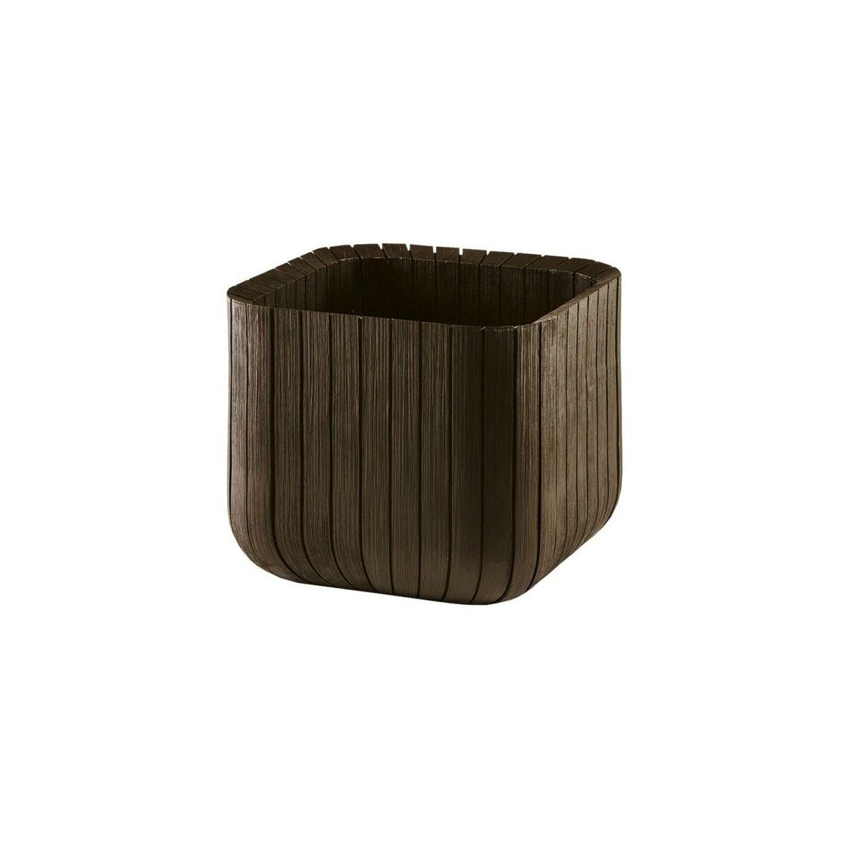 Doniczka cube s donice ogrodowe w atrakcyjnej cenie w for Cube leroy merlin